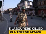 Video : 5 Non-Kashmiri Labourers Killed By Terrorists In Jammu And Kashmir's Kulgam