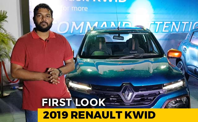 2019 Renault Kwid Facelift First Look