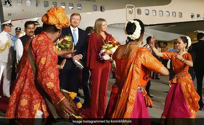 Dutch King And Queen Reach India For 5-Day Visit, To Meet PM Modi