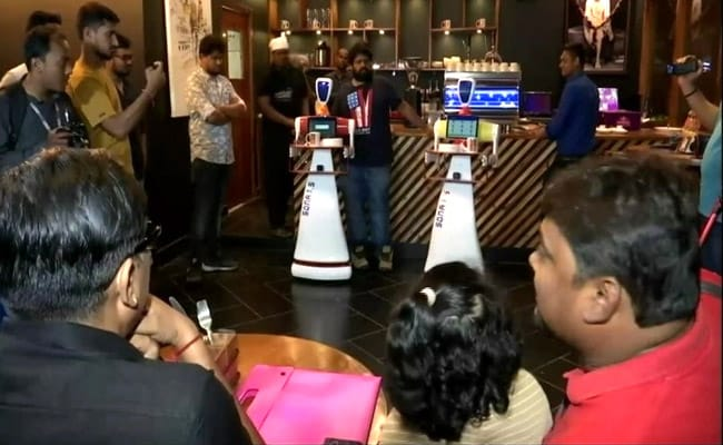 Made In India Robots To Serve Food At This Bhubaneswar Restaurant