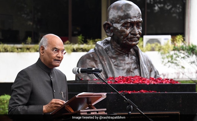 'Gift From India': President Unveils Mahatma Gandhi's Bust In Philippines