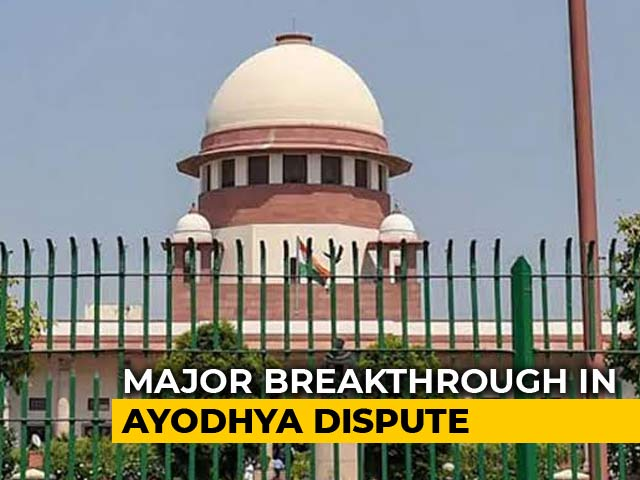Video : Sunni Waqf Board Ready To Drop Claim To Disputed Ayodhya Land: Sources