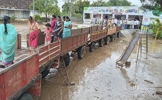 Annoyed With Muddy Water, Maharashtra Villagers Build A 'Bridge' To Vote