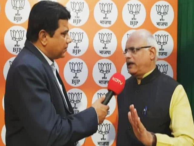 Video : BJP's Vinay Sahasrabuddhe On What Got Party Leads In Maharashtra, Haryana