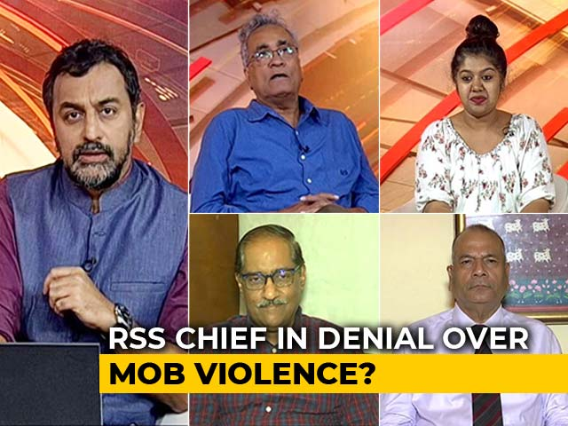 Video : Mob Violence: Reality Check For RSS Chief