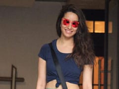 Shraddha Kapoor's Printed Tights Are What Every Workout Needs
