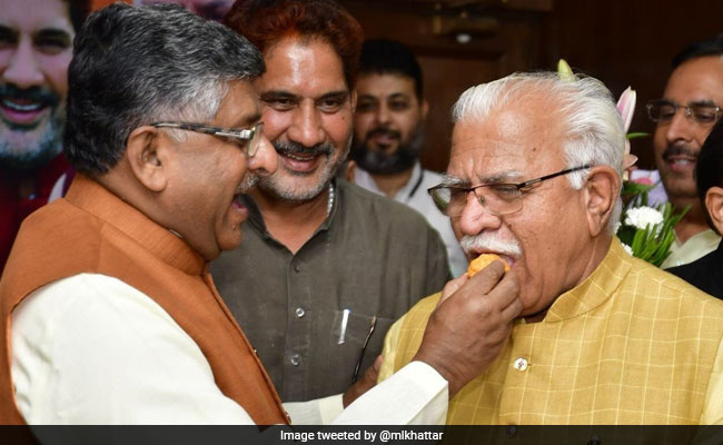 ML Khattar's Oath Likely Tomorrow In Haryana After Dushyant Chautala Deal
