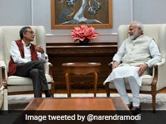 """India Proud Of His Accomplishments"": PM After Meeting Abhijit Banerjee"