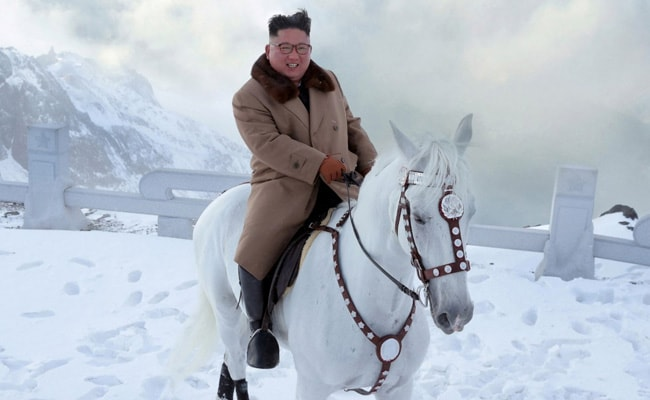 North Korea Kim's white horseback ride spurs policy shift speculation