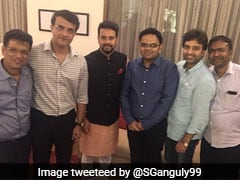 """BCCI-এর নতুন দল"", ছবি টুইট করলেন সৌরভ গঙ্গোপাধ্যায়"