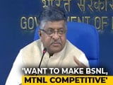 Video : MTNL, BSNL To Be Merged; Government Says Making Them Competitive