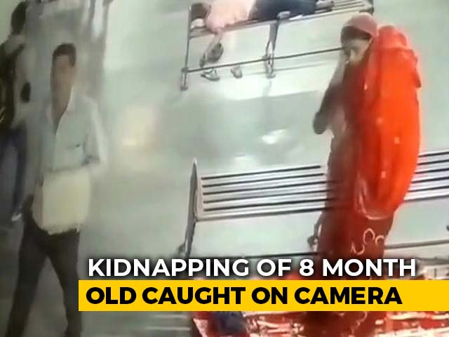 Video : On Camera, 8-Month-Old, Sleeping Next To Mother, Kidnapped In UP