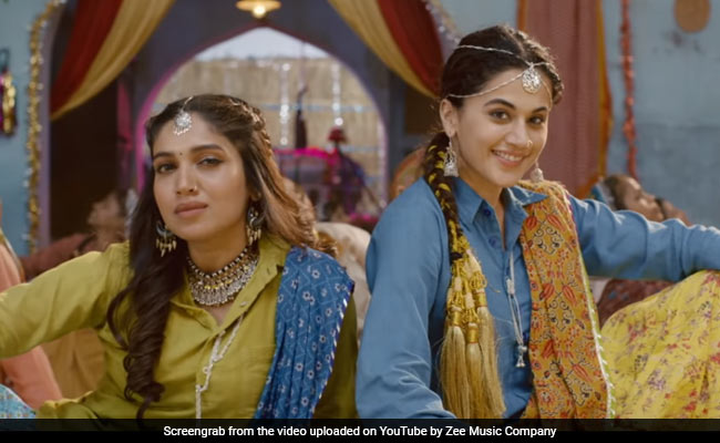 Taapsee Pannu, Bhumi Pednekar Celebrate The Power Of Womaniya In Saand Ki Aankh Song