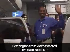 Watch: ISRO Chief K Sivan Gets A Surprise Aboard IndiGo Flight