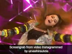 उर्वशी रौतेला ने 'हसीनों का दीवाना' सॉन्ग पर किया जबरदस्त डांस, अहमद खान हुए Shocked, देखें वीडियो