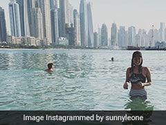 दिवाली के तुरंत बाद दुबई पहुंच गईं Sunny Leone, पूल में यूं चिल करती आईं नजर- देखें Viral Photo