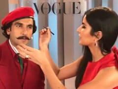 How Katrina Kaif's Makeup Skill Helped Ranveer Singh Achieve 'Unprecedented Level Of Hotness'