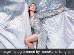 In A Shiny Disco Dress, Malaika Arora Raises The Bar For Party Looks