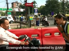 Watch: Dancing MBA Student Manages Traffic In Indore