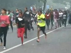 """""""Children Ran Because They Wanted"""": Delhi Race Organiser After Smog Row"""