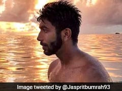Jasprit Bumrah Enjoys Leisure Time Amidst Sea Water, Picturesque Sky
