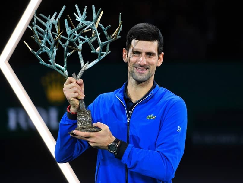 Novak Djokovic Cruises Past Denis Shapovalov To Win Fifth Paris Masters Title