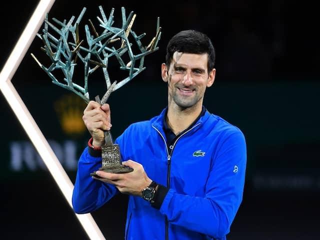 Novak Djokovic Cruises Past Denis Shapovalov To Win Fifth Paris Masters Title