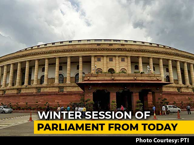 Video : Economy In Focus As Winter Session Of Parliament Starts Today
