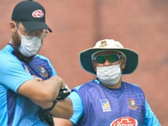 """No One's Dying,"" Says Bangladesh Coach As Players Wear Masks During Training In Delhi"