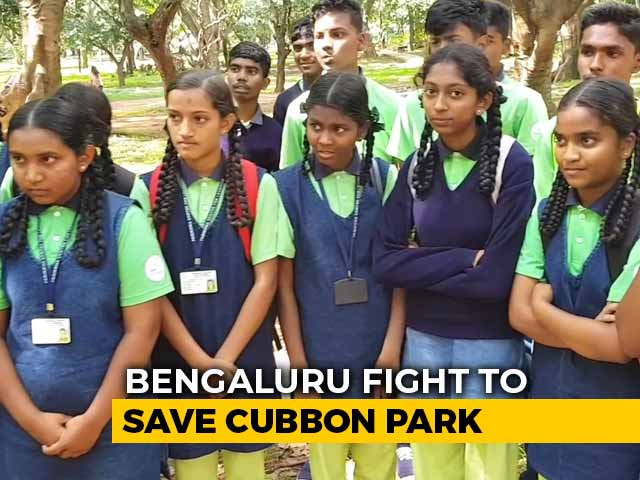 Video : Children Care For Bengaluru's Cubbon Park
