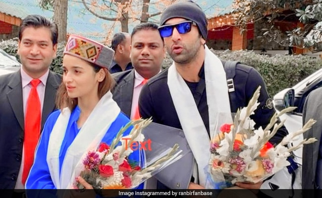 When In Manali: Alia Bhatt And Ranbir Kapoor Shoot For Brahmastra In The City. See Viral Pic