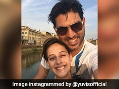 """Feels Like 30"": Yuvraj Singh's Message To Wife Hazel Keech On 3rd Marriage Anniversary"