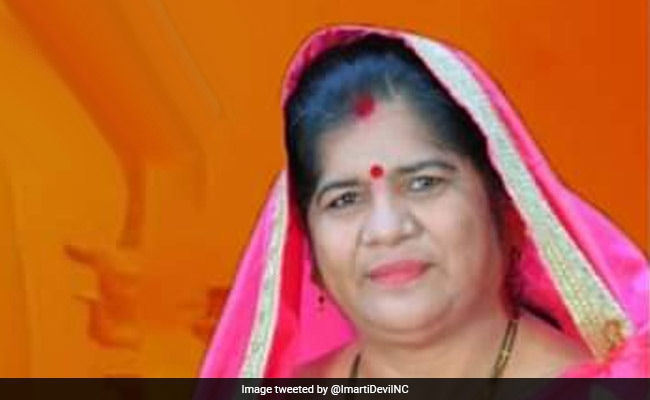 BJP Silent On Eggs In Maharashtra Mid-Day Meals, But Politicising It In Madhya Pradesh: Imarti Devi