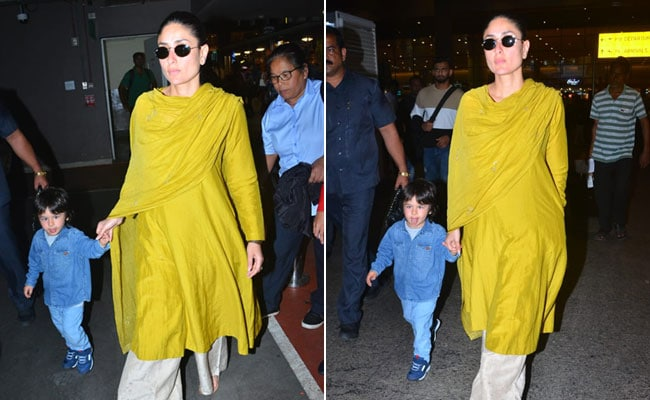 Kareena Kapoor Gives Us Ethnic Inspiration In A Trendy Solid Suit