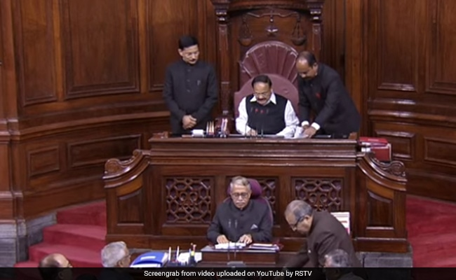 Rajya Sabha Marshals Back In Indian Attire After Row Over New Uniform