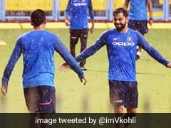 """Stealing Doubles..."": Virat Kohli Tweets Photo With ""Partner In Crime"" MS Dhoni"