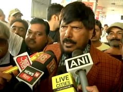 """Sena Taught A Lesson By BJP"": Ramdas Athawale On Maharashtra Government"