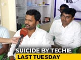 "Video : ""No One To Help"": Telangana IT Workers Say After Techie, 24, Kills Herself"