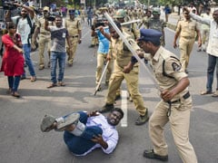 Violence Breaks Out During Telangana Transport Protest In Hyderabad