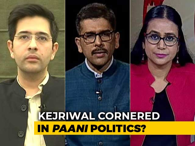 Video : BJP Questions Arvind Kejriwal On Polluted Delhi Water