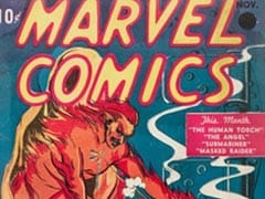 First Ever Marvel Comic Sells For $1.26 Million At US Auction