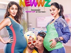 <I>Good Newwz</i> Is ROFL Posters Of Akshay Kumar, Kareena Kapoor, Kiara Advani, Diljit Dosanjh