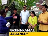 Video : Rajinikanth And Kamal Haasan Fans Shake Hands As Their Icons Ready To Work Together