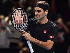 "Roger Federer ""Excited"" To Play Novak Djokovic After Keeping ATP Finals Hopes Alive"