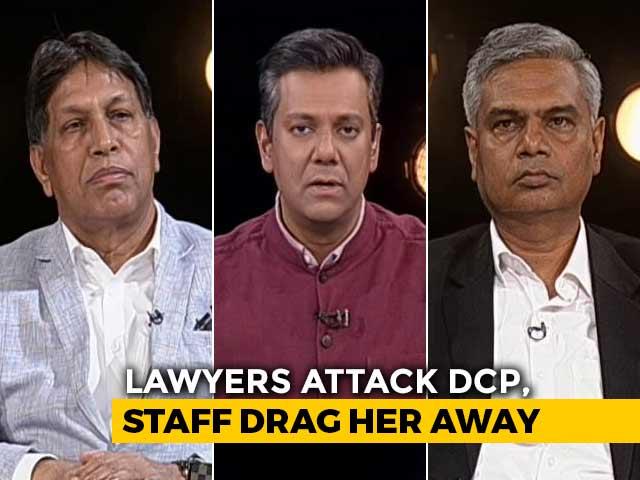 Video : Delhi Lawyers vs Police: Law vs Order