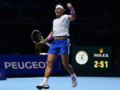 ATP Finals: Rafael Nadal Sweats On Semis Spot After Beating Stefanos Tsitsipas