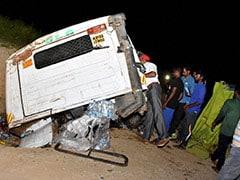 11 Killed In Collision Between Truck, Van And Bike In Andhra Pradesh