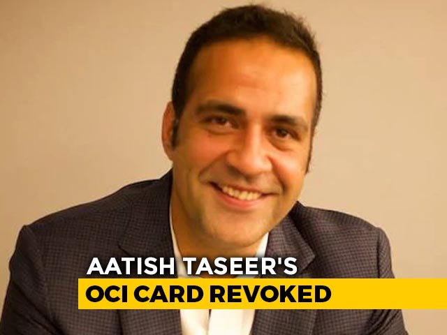 Video : Writer Aatish Taseer's Citizenship Status Revoked, Denies Centre's Charge