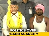 Video : Chandrababu Naidu Demands Free Sand Policy, Sits For 12-Hour Fast