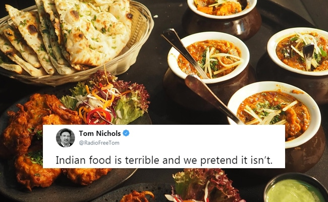 One Man's 'Terrible' Comment For Indian Food Starts All-Out War On Twitter